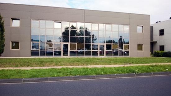 Protection solaire des vitrages d'un immeuble