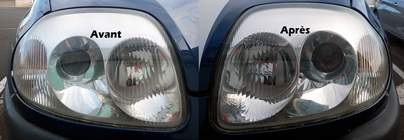 Rénovation d'optiques de véhicules pour la beauté extérieure et l'amélioration de la portée des phares